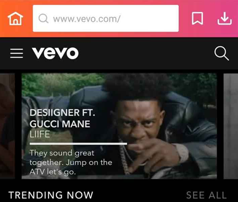 Find the Video on Vevo