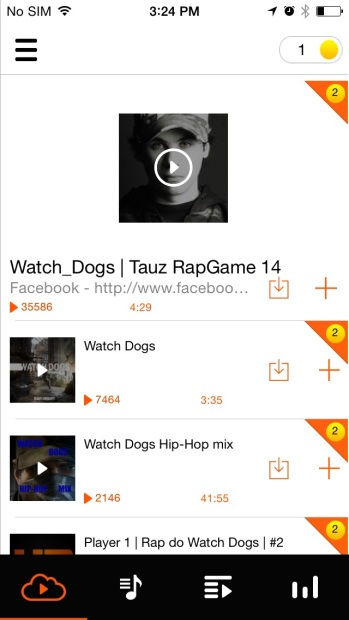 download SoundCloud tracks to iPhone