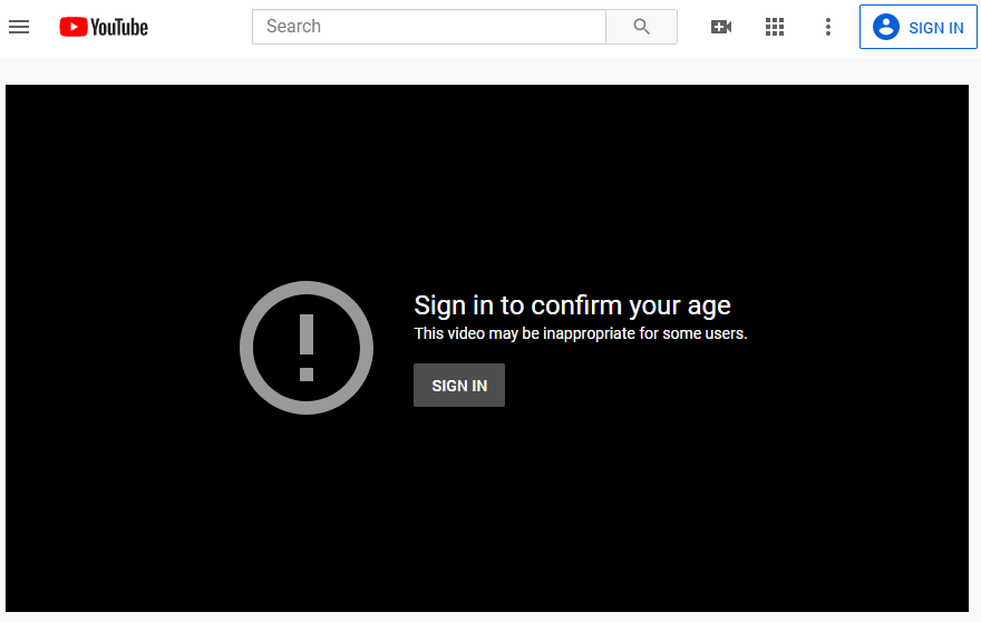 download age restricted youtube videos