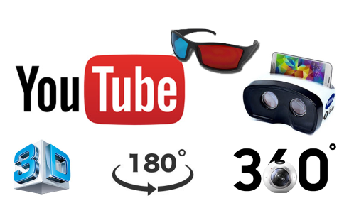 download and watch 3d 360 180 vr videos