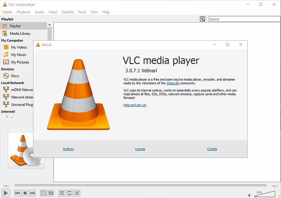 watch the 360 vr video on vlc