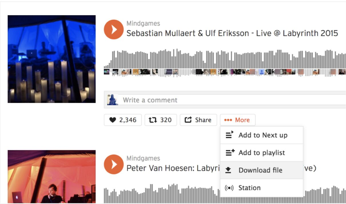 download songs on soundcloud music