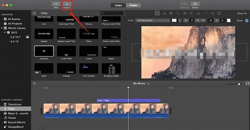 add downloaded youtube music to imovie on mac