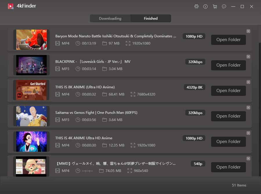 get downloaded GyaO Yahoo videos and music